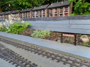 Slamannan Station Sign