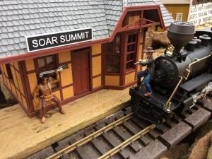 Soar Summit Station Sign