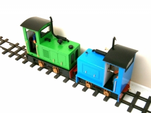 Two HGLW Loco's with Diesel Loco Parts Fitted